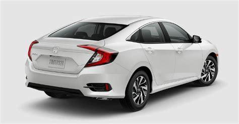 2017 Honda Civic Sedan Configurations by 2017 Honda Civic Sedan Color Options