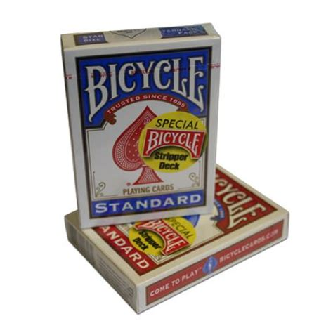 bicycle gaff cards rider back magic magician trick decks