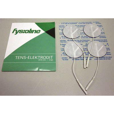 10903 Fysioline Selvklebende Tenselektroder, Ø 45mm, 4stk