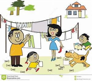 Family Doing Household Chores Together | www.pixshark.com ...