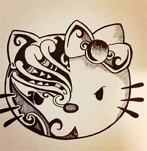 drawing, hello kitty, swag - image #2989823 by Bobbym on ...