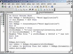 convert word document into excel spreadsheet natural With convert word document to template