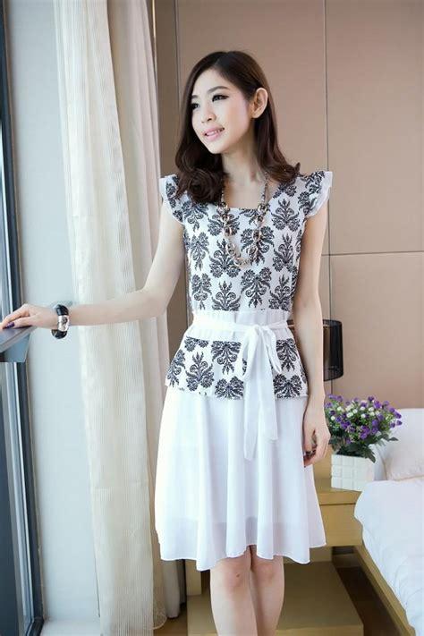 mini dress korea cantik  model terbaru jual murah