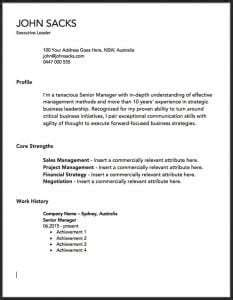 dont   downloaded resume template   read