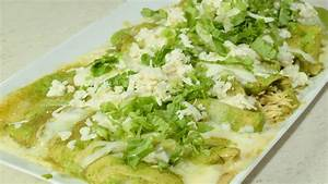 Las MEJORES!!! Enchiladas Verdes con pollo a mi Estilo ...