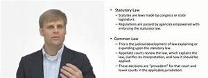Statutory Vs Common Law
