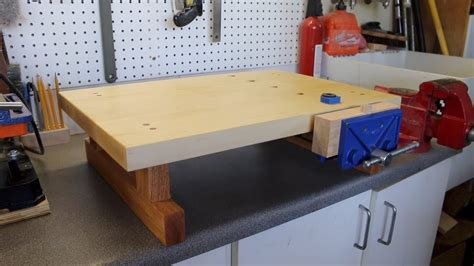 making  mini tabletop workbench woodworking youtube