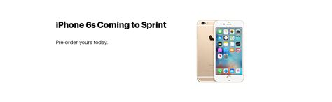 sprint iphone 6 plan sprint offers the iphone 6s for 1 a month with trade in