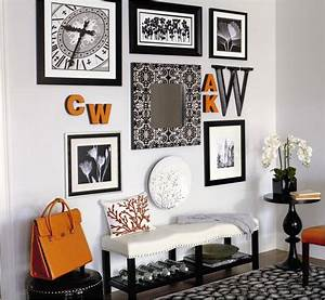 Home goods wall art decorating with framed