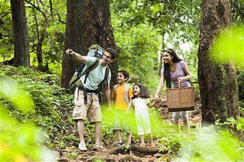 enjoying outdoor activities  family nestle india