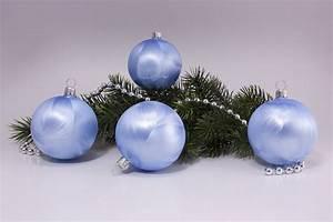 Weihnachtskugeln Aus Lauscha : christbaumschmuck eis hellblau uni christbaumkugeln ~ Orissabook.com Haus und Dekorationen