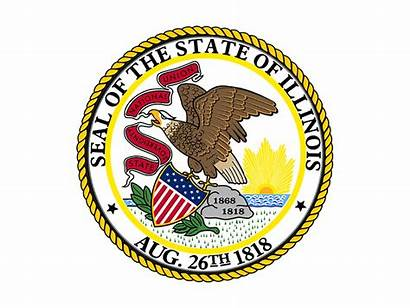 Illinois State Seal Fire Marshal Surs Vector