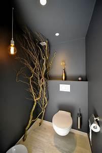 Deco Wc Gris : deco wc gris anthracite ~ Melissatoandfro.com Idées de Décoration