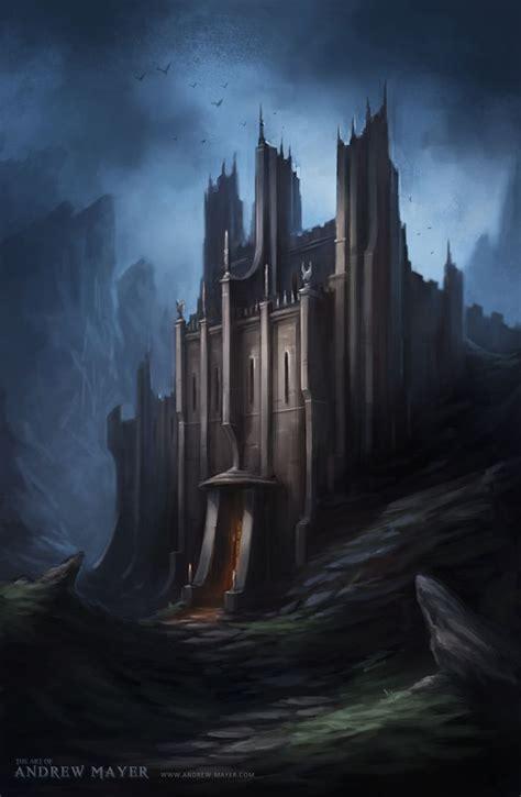 fantasy castle  andimayer  deviantart fantasy