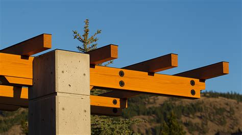 concrete  wood house  kamloops daizen joinery