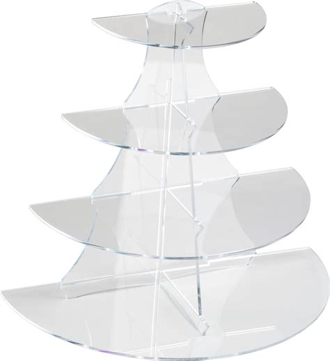 shelf acrylic stand   display  tapered tiers