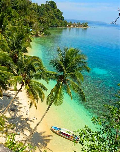 Quarantine Boat Definition by Moluccas Indonesia One Of The Beautiful Beaches In