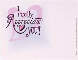 We Appreciate You Quotes. QuotesGram