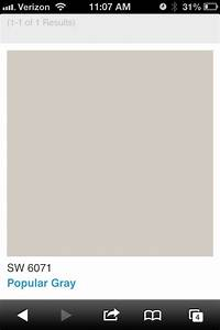 Sherwin Williams Popular Gray For the Home Pinterest