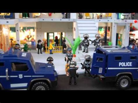 diorama commissariat de police playmobil youtube