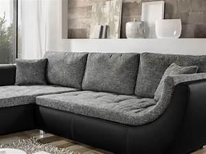 Couch Von Milben Befreien : couch avery 287x196cm webstoff anthrazit kunstleder schwarz sofa wohnbereiche wohnzimmer ~ Indierocktalk.com Haus und Dekorationen