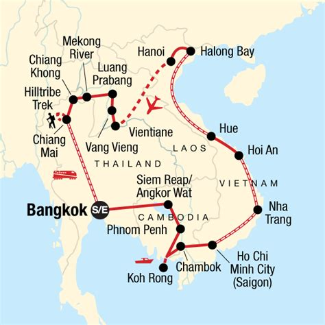 indochina discovery  trekking northern thailand