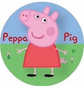 "Peppa Pig Rice Paper Cake Toppers 12 x 1 3"" by Baking"