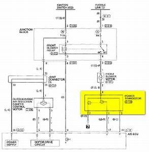 Where Is The Thermal Heat Resistor   Blower Motor Resistor
