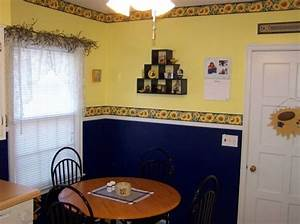 sunflower kitchen decor theme the unique appeal With what kind of paint to use on kitchen cabinets for art deco wall decals
