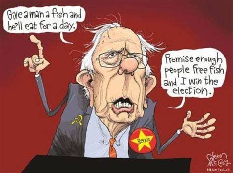 Image result for bernie sanders cartoons