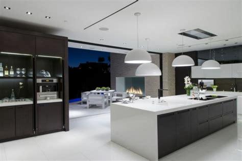 vers blanc cuisine cuisines design 110 idées pour un aménagement tendance