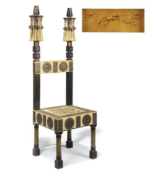Throne chair carlo bugatti, 1900 christie's. CARLO BUGATTI (1856-1940) , THRONE CHAIR, CIRCA 1902 | Christie's