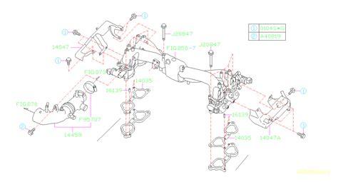 Subaru Intake Manifold Diagram by 14459aa361 Duct Assembly Air Intake Manifold System