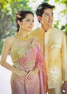 17 best images about thai traditional dress on pinterest With robe thailandaise