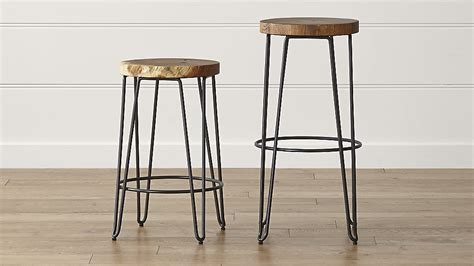 Ikea Chair Cushion by Origin Backless Bar Stools Crate And Barrel