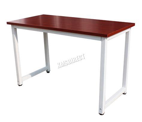 desk ls uk foxhunter pc computer desk corner wooden desktop table