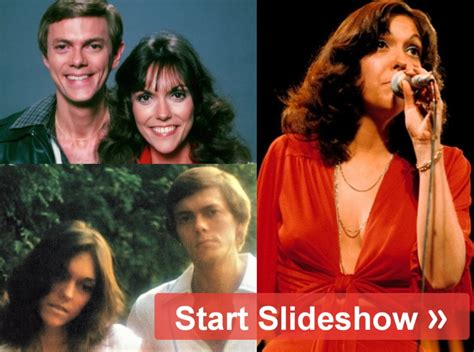 Karen carpenter was blessed with one of the most exquisitely warm and inviting voices in pop history, but with a melancholy edge even on her sunniest a long string of fine records followed, until the siblings' personal problems began to eclipse their music. They Were 'On Top Of The World': The Real Story Of The Carpenters - Worldemand