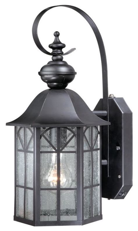 vaxcel sr53129or tudor 9 quot outdoor smart lighting wall
