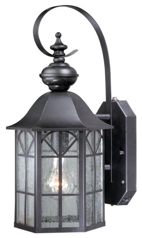 """Vaxcel Sr53129or Tudor 9"""" Outdoor Smart Lighting Wall"""
