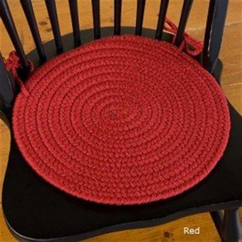 braided chair pads for kitchen chairs bold braided chair pad chair pad home