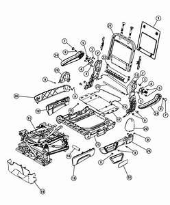 2015 Dodge Grand Caravan Armrest  Rear Seat  Right  Trim