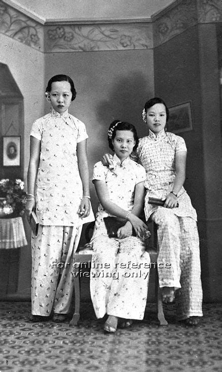 """CHINESE LADIES IN """"SAMFOO"""" - 1950 