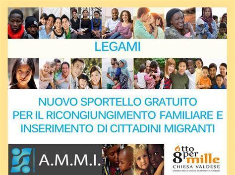 Interno Ricongiungimento Familiare Legami A Torino Uno Sportello Per Il Ricongiungimento