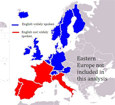 Where English Is Spoken Most In Europe