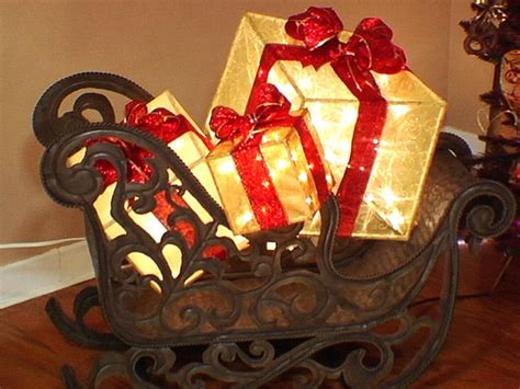create  lighted holiday gift box hgtv