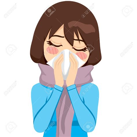 Cough Clipart Runny Nose Clipart 101 Clip