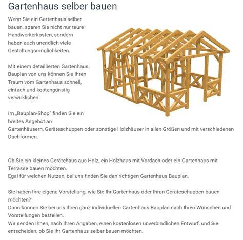 Gartenhaus Holz Selber Bauen Anleitung by Gartenhaus Bauplan Maxisaas De