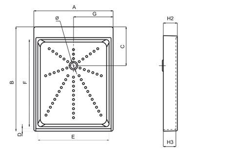piatto doccia plastica piatto doccia a cassetta 79x100 in plastica sanitari in
