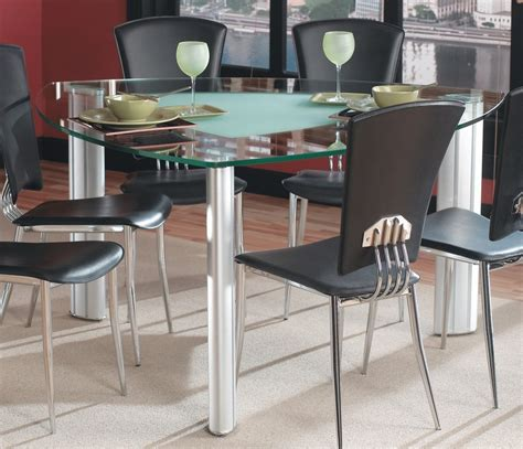 glass kitchen table choose a triangle dining table for your dining room