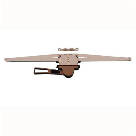 truth hardware bronze single pull lever awning window operator  menards